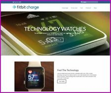 """Fully Stocked Dropship FITNESS WATCH Website High Margin - """"300 Hits A Day"""""""