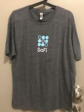 Sofi Employees Only Company Shirt, Gray, Next Level, Mens Extra Large XL