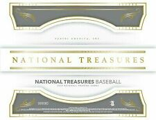 2018 Panini National Treasures Baseball Hobby 4-box Case
