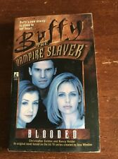 BUFFY THE VAMPIRE SLAYER BLOODED BOOK BTVS