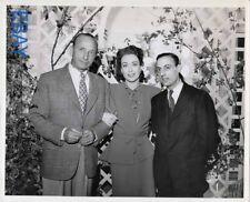 Stephen Pizella visits director Michael Curtiz Joan Crawford VINTAGE Photo