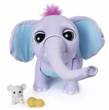 Spin Master 6047248 Juno My Baby Elephant with Interactive Moving Trunk NWOB!