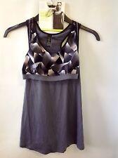 M&S Lingerie Non Wired Medium Impact Layered Bra Vest Size: Small