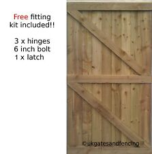 Wooden Garden Gate Wooden Gate  Pedestrian Gate All sizes  !
