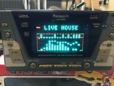 PANASONIC DOUBLE DIN CQ-VX3500D RADIO CD MD PLAYER OLD SCHOOL STEREO + AUX + USB