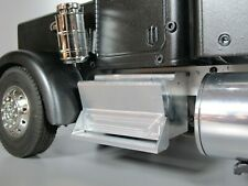 Pair Aluminum Side Step Tool Box Block Tamiya RC 1/14 King Knight Grand Hauler