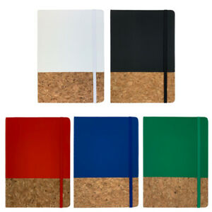 A5 Notebook - Eco Friendly Cork Notepad Writing Pad Journal Diary Vegan Book UK