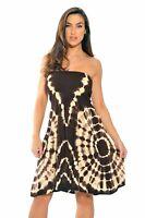 Riviera Sun Strapless Tube Short Dress / Summer Dresses