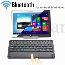 WIRELESS BLUETOOTH 3.0 TASTIERA KEYBOARD TOUCHPAD PER ANDROID WINDOWS TABLET