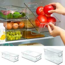 1 un. Plástico Organizador Cocina FRIGORÍFICO DESPENSA HO Casa de bricolaje de almacenamiento de alimentos