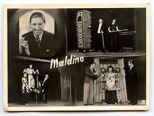"PHOTO.SPECTACLE DE PRESTIDIGITATEUR.CONJURER. "" MALDINO "" MAGIE.MAGICIEN.CIRQUE"