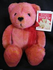 "Avon Kids ""Valentino"" The Love Bear - 2002 - Interactive Talking Bear"