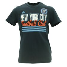 New York City Football Club FC Official MLS Adidas Youth Girls T-Shirt New