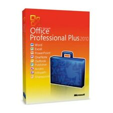 Microsoft Office 2010 Professional  Full English Retail Box Version with key