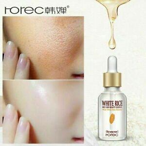 White Rice Serum HOREC Whitening Oil Beauty Skin Care Treatment Anti Aging Face