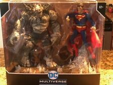 McFarlane DC Multiverse 2 Pack Custom Doomsday vs Superman devastator