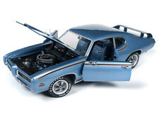 American Muscle 1969 Pontiac GTO Judge Blue 1:18 Scale Replica 1171 OK Toys