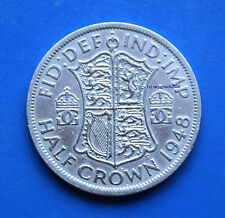 1948 George VI British HALF CROWN Birthday Gift or Anniversary