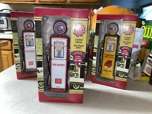 Red Crown Gas Pump. Limited Edition Die Cast Collector's Bank Crown Premiums