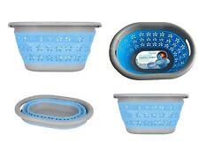 Collapsible Laundry Basket Easy Folding Storage Washing Space Saving Clothe Bin