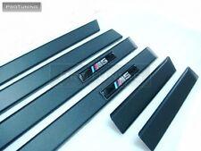 BMW 5 serie E39 M5 Saloon Touring Negro Puerta Trim moldeo türleistensatz Mpack