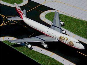 Gemini Jets - TWA B747-100    GJTWA272W  Scale1:400