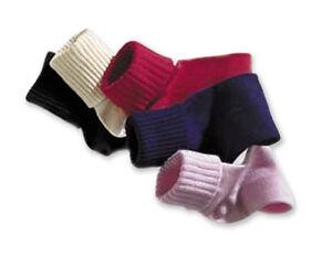 1 Pair of Tic Tac Toe Triple Roll Seamless Toe Hand Linked Cotton Socks - 376506
