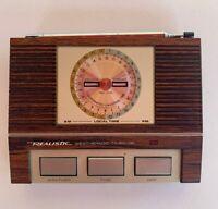 Vintage Realistic Timekube & Weatheradio Receiver Weather Radio Model 12-148