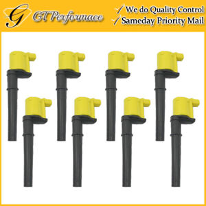 OEM Quality Ignition Coil 8PCS for Avanti/ GT Mustang/ Aviator/ Continental, V8