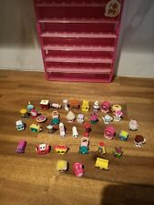 Shopkins Mini Figures Bulk Lot Moose 37In Total with case