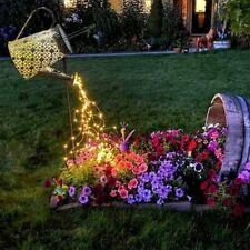 Solar Watering Can String Light Outdoor Solar Lantern Garden Lamp Lawn Decor Art