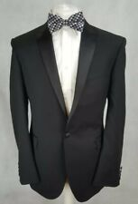 Taylor & Wright Mens Dinner Suit, Black, Chest 42R Trousers 36, Very GC.   Y5