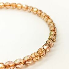 """ALEX AND ANI """"ROCK CANDY BLUSH"""" BEADED BRACELET IN SHINY GOLD. RARE!"""