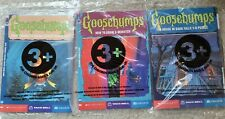 Goosebumps Taco Bell 1997 Lot of 3 Kids Meal Toys - Book Puzzle Game New Sealed
