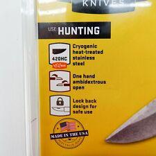 "Buck 284 Bantam Bbw Folding Knife 2.75"" Blade, Black Handle-New In Blister"
