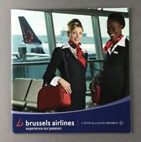 SN BRUSSELS AIRLINES SALES BROCHURE CABIN CREW PICTURES