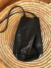 Neta Sade Mini Black Leather Handbag