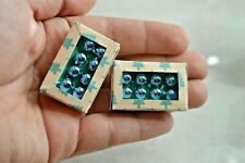 Dollhouse Miniature Christmas Ornaments Box Tree Handmade 1:12 scale