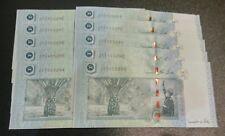 MALAYSIA RM50  ZETI Replacement ZC, 10 Pieces, UNC