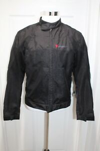 Dainese Vented Textile Motorcycle Jacket Men's EU 50 M Black Armor