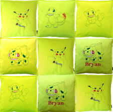 Cotton Blend Embroidered Square Decorative Cushions