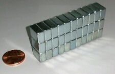 30 Neodymium Block Magnets Large N50 Super Strong Rare Earth 1/2
