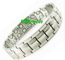 BIO MAGNETIC DOUBLE STRENGTH HEALING BRACELET -STRESS+ARTHRITIS PAIN RELIEF