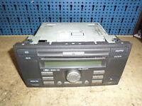 6S61-18C815-AF Radio CD OHNE CODE Ford Focus II 1.8 Kombi 92kw BJ.06