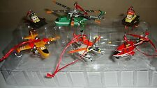 NEW Disney Planes Fire and Rescue Christmas Ornament Figure 6pc FREE SHIPPING