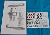 Classic Airframes 1/48 Venom FB. 1 decals 4109