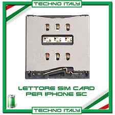 MODULO LETTORE SIM CARD READER PER IPHONE 5C FLAT