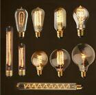 Bombilla Lámpara Luz Filamento Incandescente Edison Retro Vintage E27 220V 40W