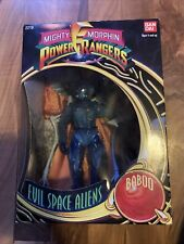 "Bandai Mighty Morphin Power Rangers 8"" Evil Space Aliens BABOO Figure 1993, NIB"