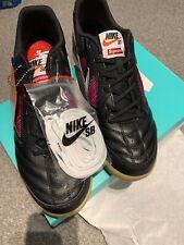 Nike SB X SUPREME Gato QS Skateboarding Shoe Sneakers Size UK 10 US 11